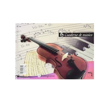 BLOC DE MUSICA 4º 4 PENTAGRAMAS