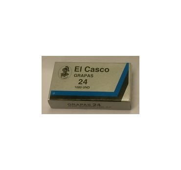 GRAPAS GALVANIZADAS EL CASCO Nº 24