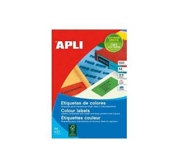 ETIQUETAS APLI  AMARILLO 210,0X297,0 2