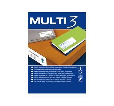 ETIQUETAS MULTI3 - 70,0X 16,9 100H