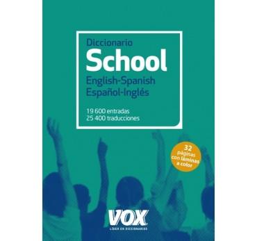 Diccionario school English-Spanish/Español-Inglés