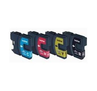 BROTHER DCP-145C/DCP-165C, PACK 4 CART.