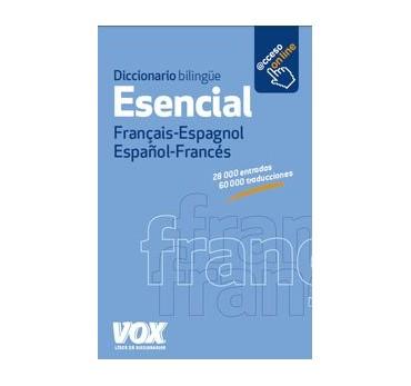 DICCIONARIO ESENCIAL FRANÇAIS-ESPAGNOL/ESPAÑOL-FRANCÉS