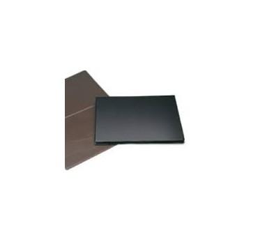 VADE BASIC PVC. DOBLE NEGRO-490X350mm