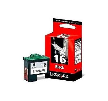 LEXMARK Nº16 Z13/Z23/Z33 NEGRO
