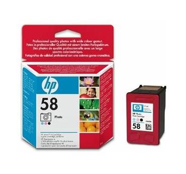 HP CART. Nº58 PS100/30/230/DJ5
