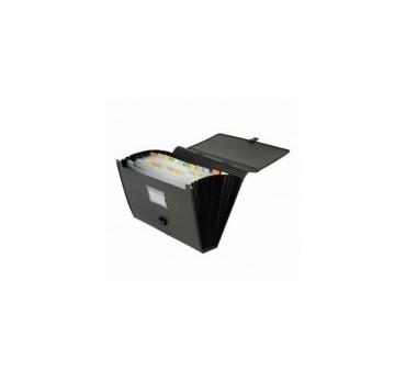 MALETIN CLASIFICADOR  PP Din A-4 NEGRO Office Box