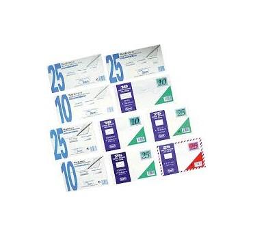 PQ. 25 SOBRES BLANCO 229X324 100G.T. SILICONA