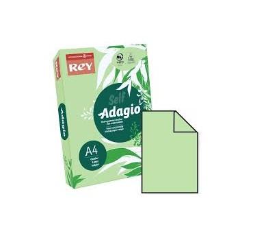 PAPEL ADAGIO A4 80GRS VERDE ESMERALDA- 500H.