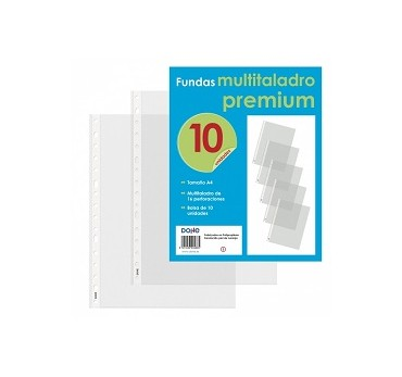 PACK 10 FUNDAS FOLIO PREMIUM