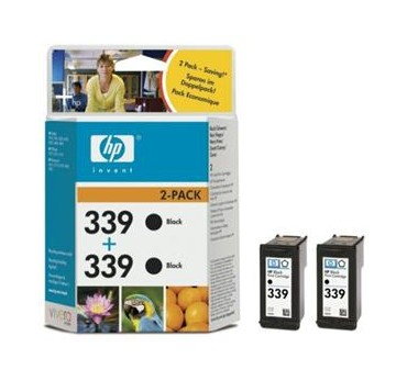 HP.CART.PACK (X2-Nª339)NEGRO