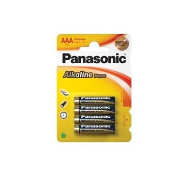 PILAS PANASONIC ALKALINE POWER LR03 AAA
