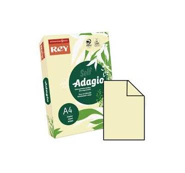 PAPEL ADAGIO A4 80GRS. MARFIL -500H
