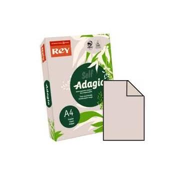 PAPEL ADAGIO A4 80GRS. GRIS -500H