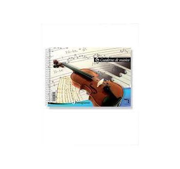 BLOC DE MUSICA 4º - 6 PENTAGRAMAS